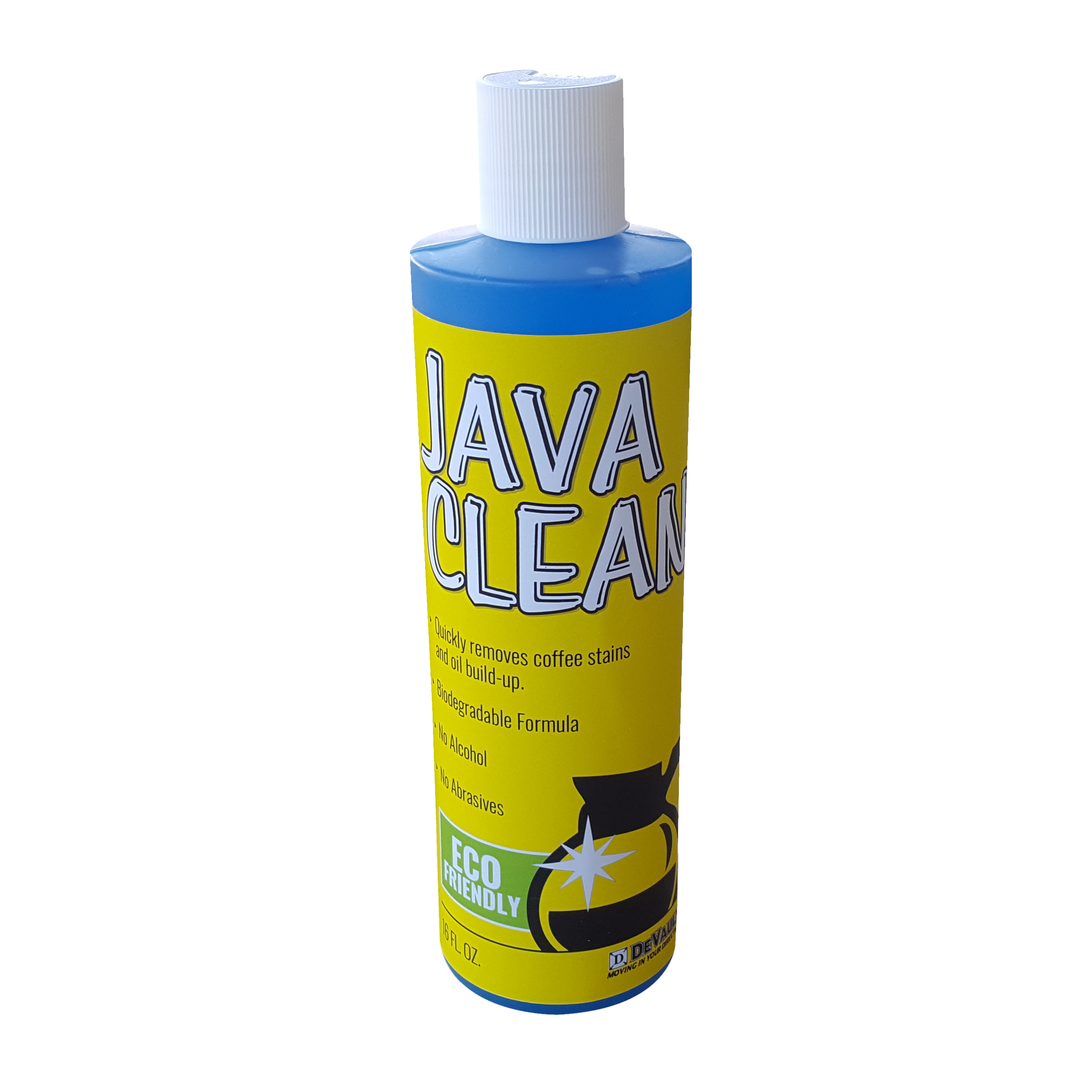 Home Cleaning Supplies Java Cleaner Coffee Pot 16oz Case Of 9